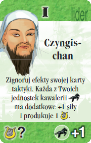 I - Czyngischan (S)