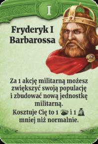 I - Fryderyk I Barbarossa (N)
