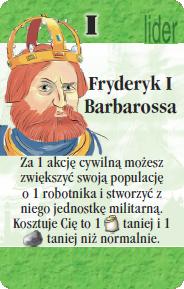 I - Fryderyk I Barbarossa (S)