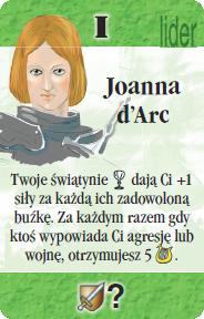 I - Joanna d'Arc (S)