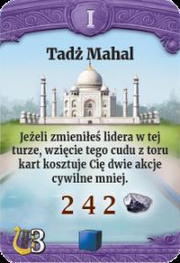 I - Tadż Mahal (N)