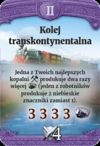 II - Kolej transkontynentalna (N)