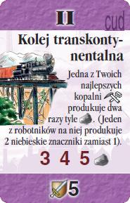 II - Kolej transkontynentalna (S)