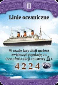 II - Linie oceaniczne (N)