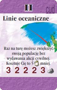 II - Linie oceaniczne (S)