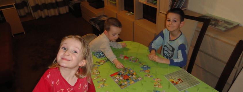 Moje dzieci grają w Patchwork